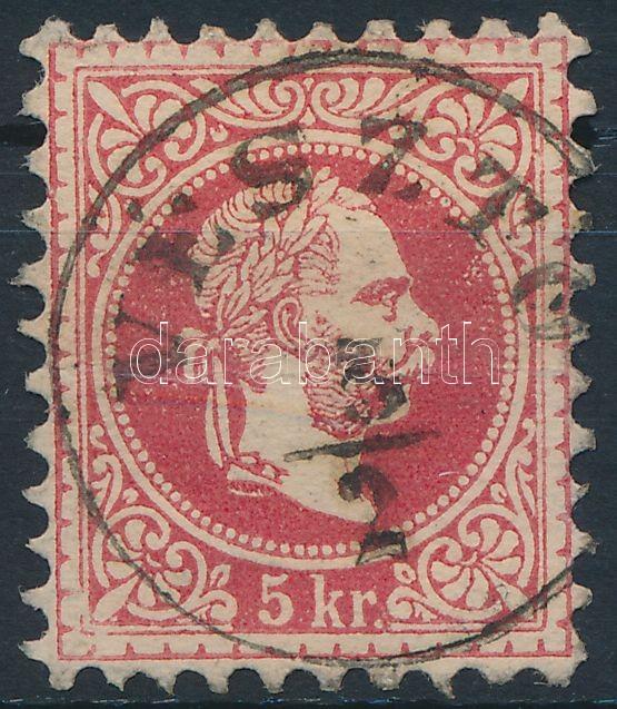 """""""VÉSZTŐ"""" Austria-Hungary classic postmark """"VÉSZTŐ"""""""