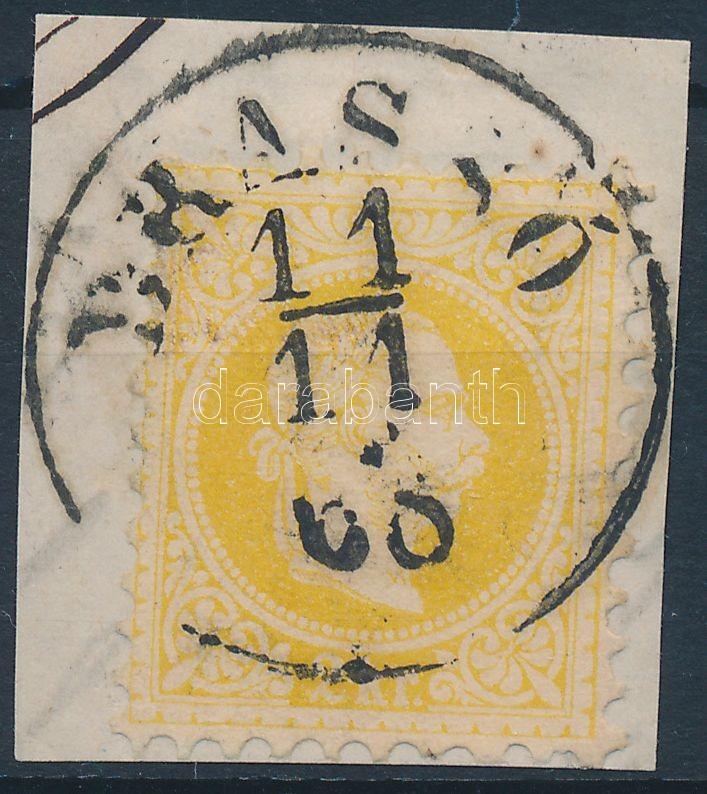 "Austria-Hungary-Romania classic postmark ""BRAS(S)Ó"" ""BRAS(S)Ó"""
