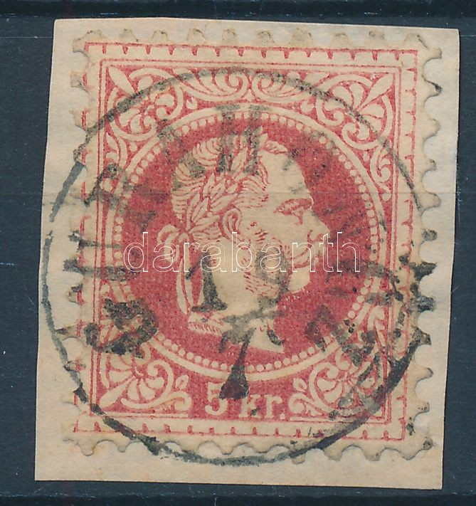 """GURAH(ON)CZ"" Austria-Hungary-Romania classic postmark ""GURAH(ON)CZ"""