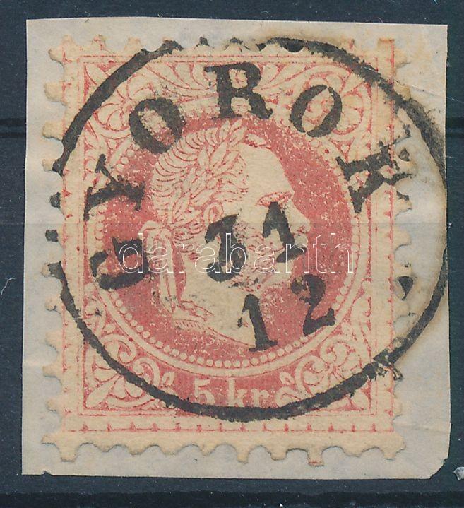 "Austria-Hungary-Romania classic postmark ""GYOROK"" ""GYOROK"""