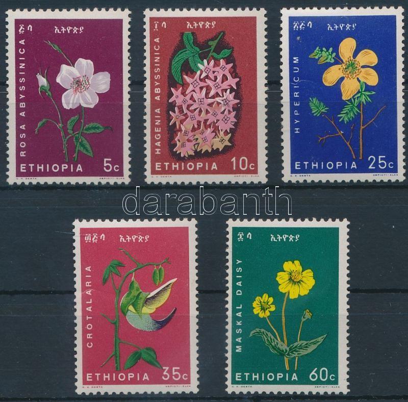 Flower set Virág sor