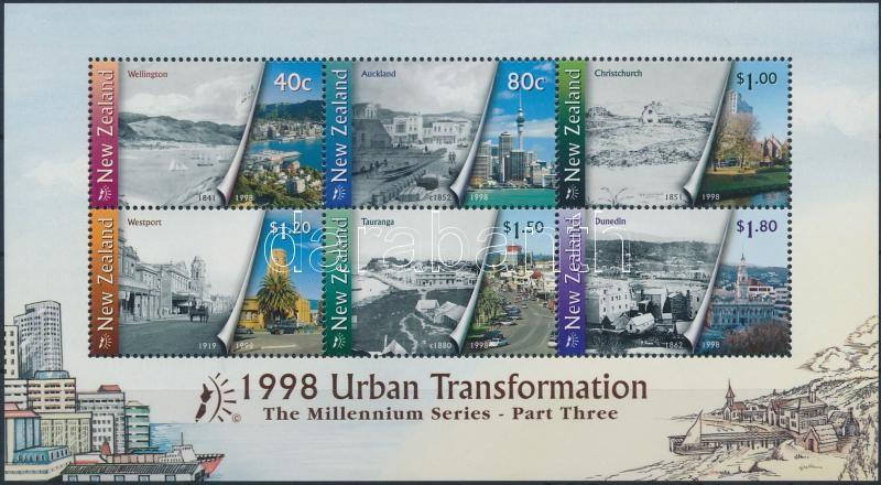 Millennium (III) - Urban development block, Ezredvég (III) - Városfejlődés blokk