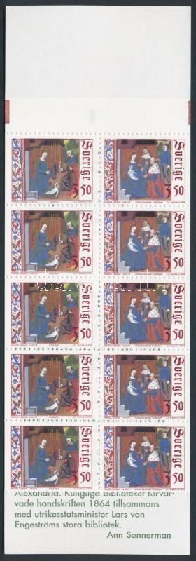 Christmas stamp booklet, Karácsony bélyegfüzet