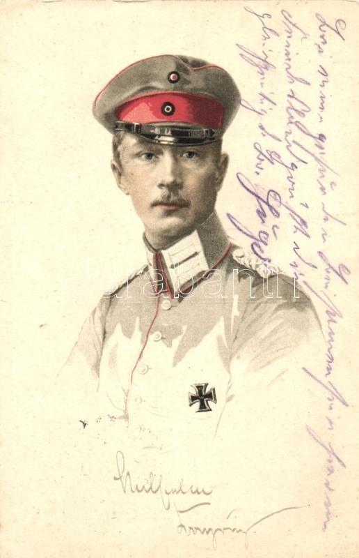 William, German Crown Prince, William, Német koronaherceg