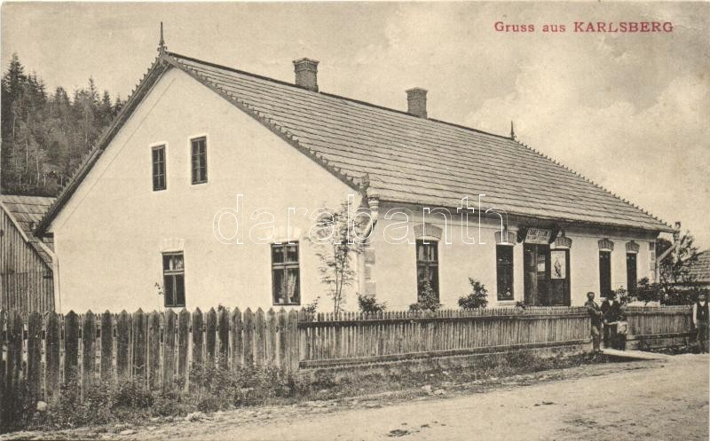 Carlsberg, Karlsberg; shop of Franz Steiner, published by Franz Steiner