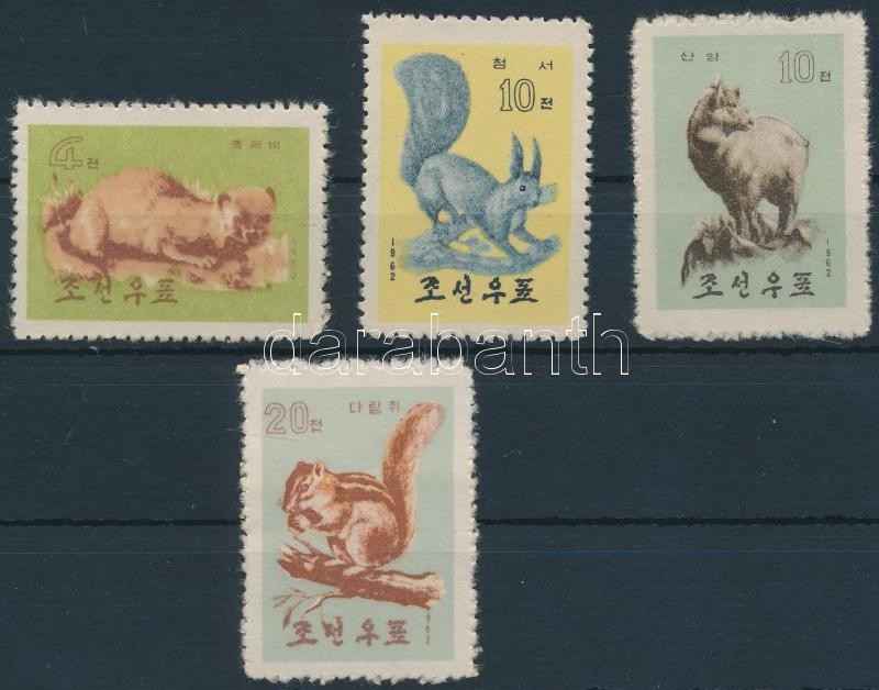 4 animal stamps 4 klf Állat bélyeg