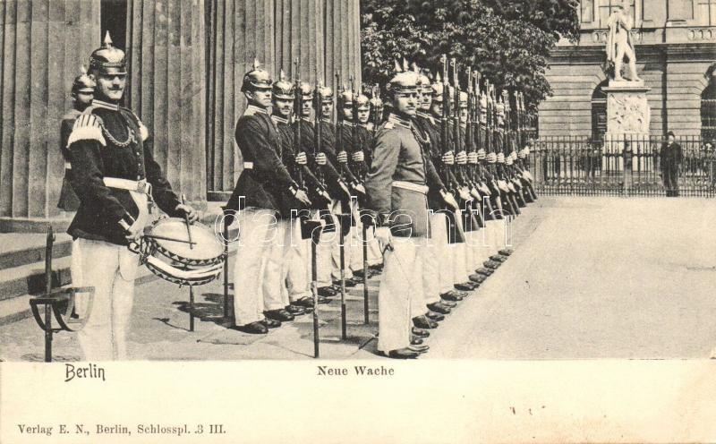 Berlin, Neue Wache / castle guard