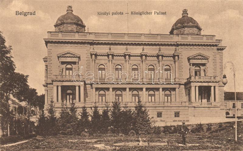 Belgrade, Royal palace