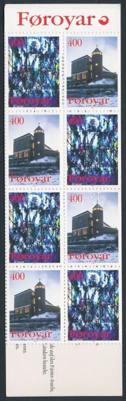Churches stamp-booklet Templomok bélyegfüzet