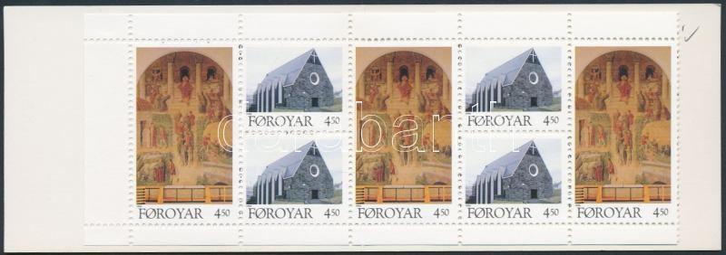 Christian church stamp-booklet Keresztény egyház bélyegfüzet