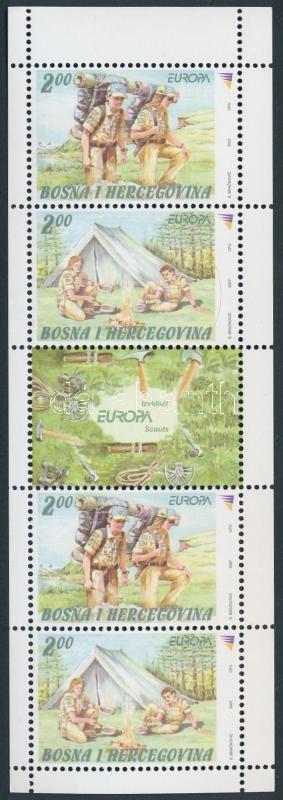 Scout stamp-booklet Cserkész bélyegfüzet