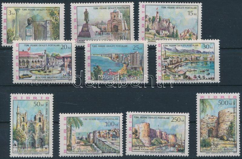 Definitive set Country Visits, Forgalmi sor Országlátogatás