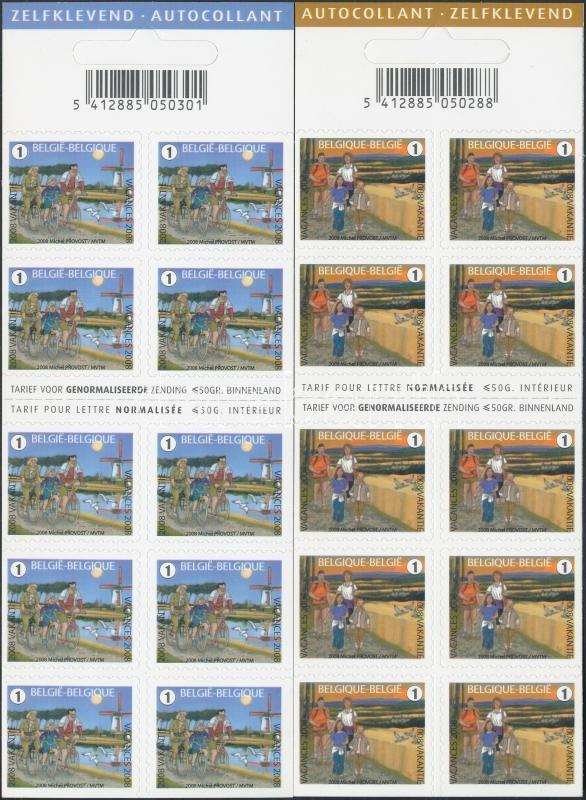 Summer Stamps 2 self-adhesive stamp-booklet Nyári bélyegek 2 klf öntapadós bélyegfüzet