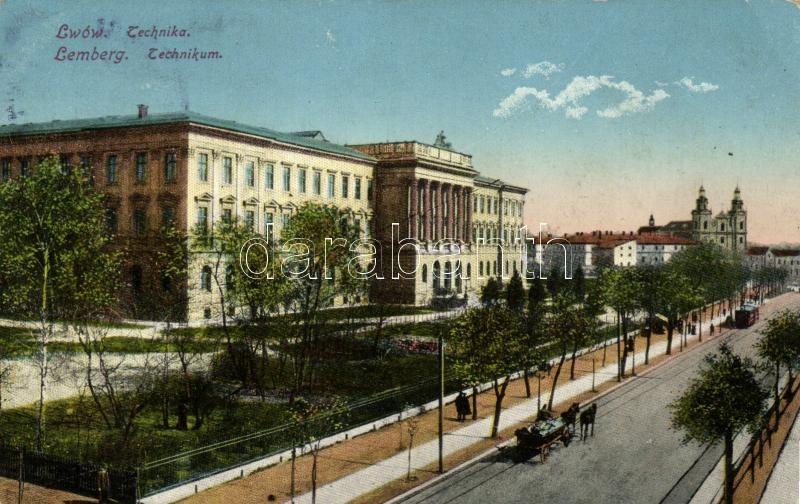 Lviv, Lwów, Lemberg; Technikum / College of Technology