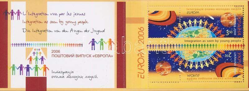Europa CEPT, Integration stamp-booklet, Europa CEPT, integráció bélyegfüzet