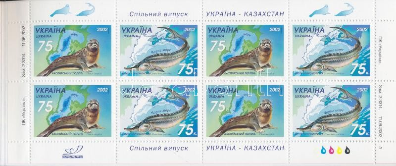 Animals stamp-booklet, Állatok bélyegfüzet