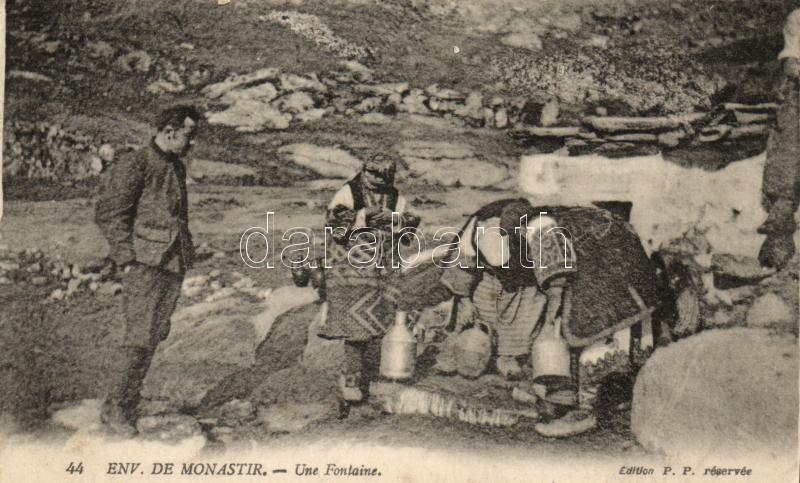 Bitola, Monastir; fountain, follore