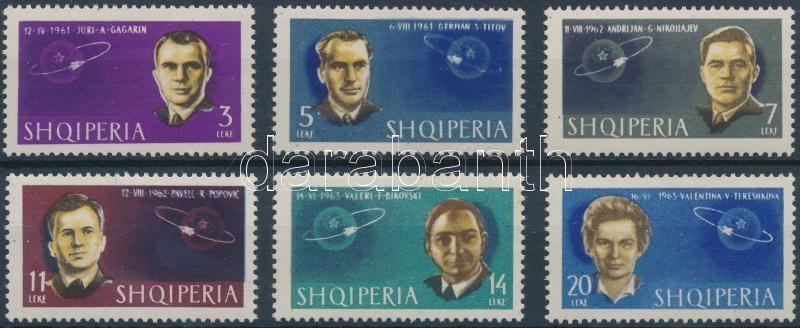 Soviet cosmonauts set Szovjet kozmonauták sor