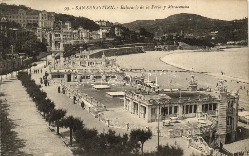 San Sebastian, Balneario de la Perla, Miraconcha / beach