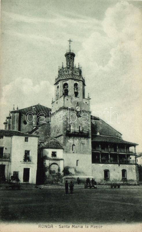 Ronda, Santa Maria la Mayor / church