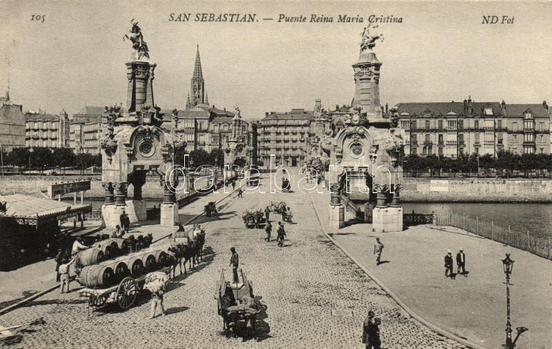 San Sebastian, Puente Reina Maria Cristina / bridge
