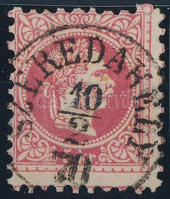 """""""SZEREDAHELY"""" Austria-Hungary-Romania classic postmark """"SZEREDAHELY"""""""