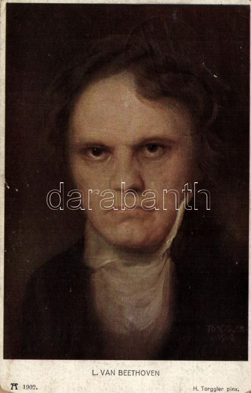 Ludwig von Beethoven, F.A. Ackermann Serie 160. s: H. Troggler, Ludwig von Beethoven, F.A. Ackermann Serie 160. s: H. Troggler