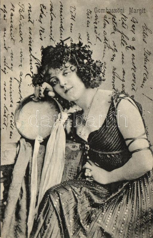 Gombaszögi Margit, Hungarian actress, Gombaszögi Margit