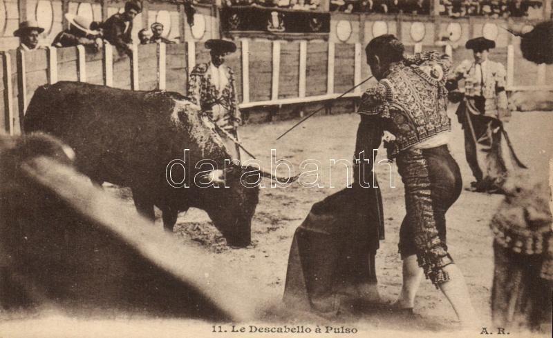 La Descabello a Pulso / Bullfight, Bikaviadal