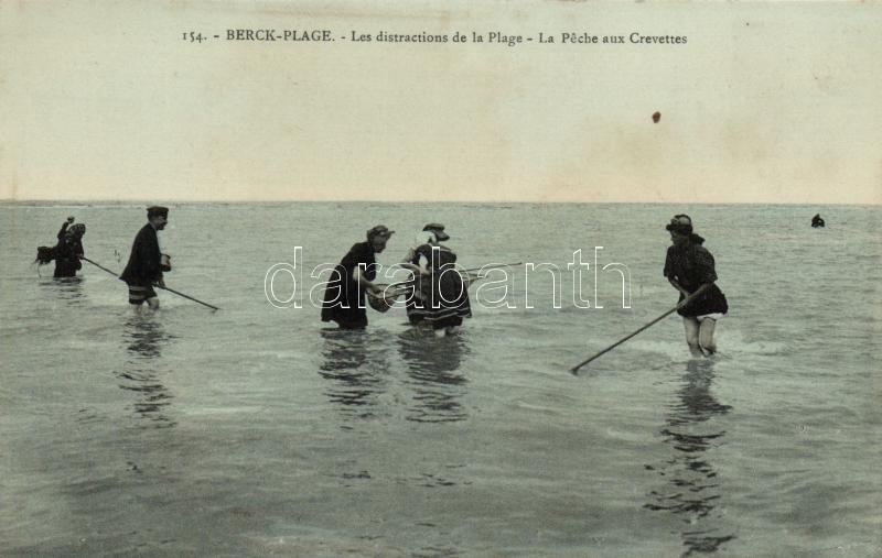 Berck-Plage, Peche aux Crevettes / Shrimp Fishing, Garnélarák halászat, Berck-Plage
