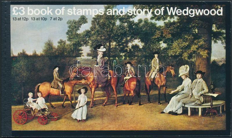 Queen Elizabeth II stamp booklet, II. Erzsébet királynő bélyegfüzet