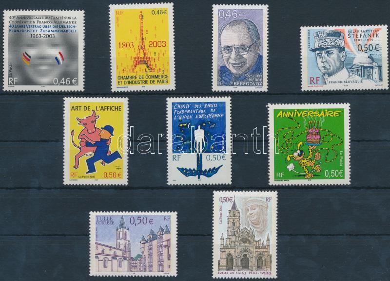 9 diff stamps, 9 klf bélyeg