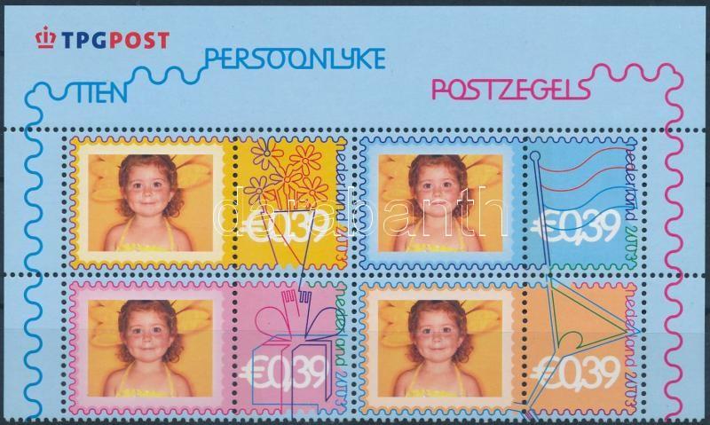 Greeting Stamp block of 4 Üdvözlőbélyeg négyestömb