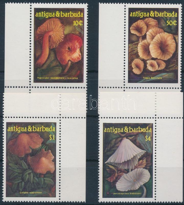 Mushrooms corner set, Gombák ívsarki sor