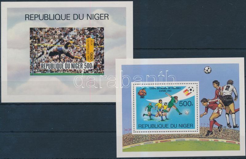 1980-1981 Summer Olympics and the Football World Cup block, 1980-1981 Nyári Olimpia és Labdarúgó-világbajnokság blokk