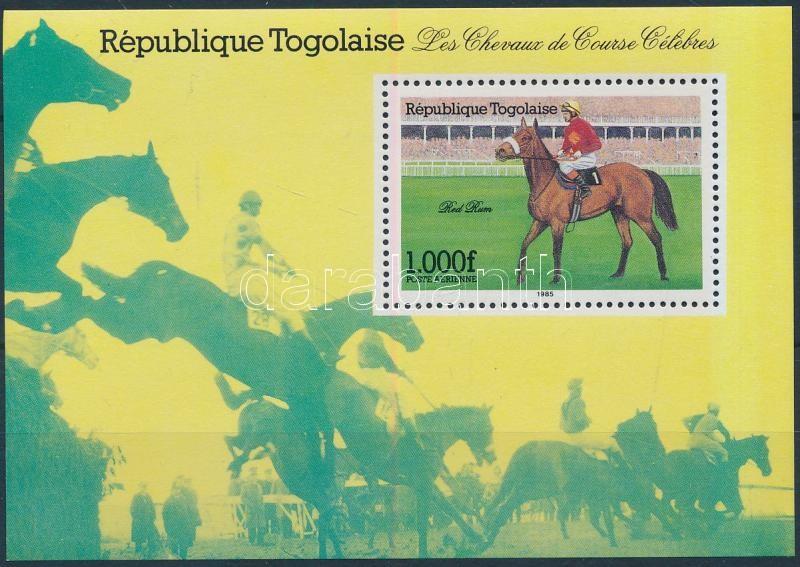 Racehorse block, Versenyló blokk