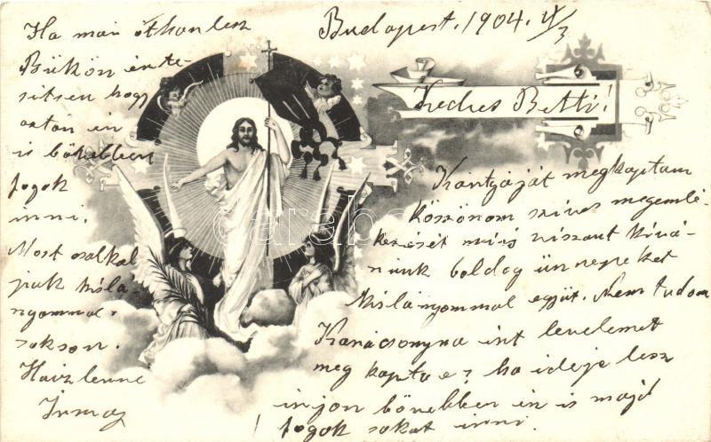 Jesus with angels, Jézus angyalokkal