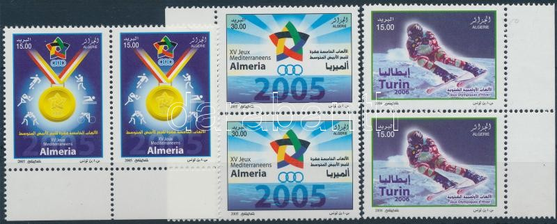 2005-2006 Sport stamp and set in pairs, 2005-2006 Sport bélyeg és sor párokban