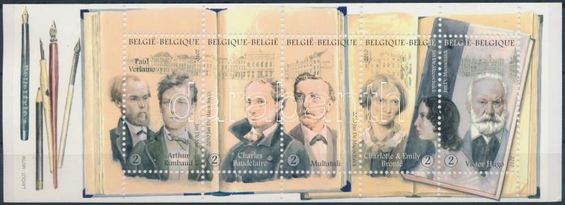 Writers stamp-booklet, Írok bélyegfüzet