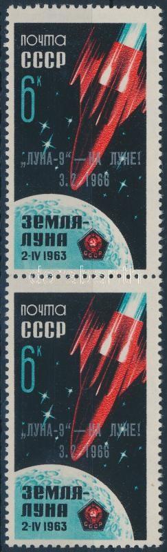 Űrkutatás: Luna 9 landolása a Holdon pár, Space research: Luna 9 landing on the moon pair