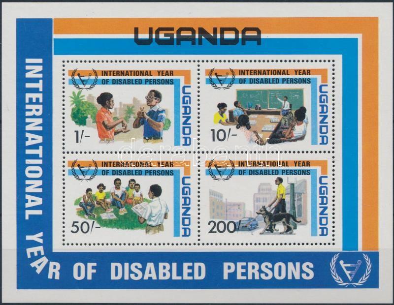 Year of People with Disabilities block, Fogyatékossággal élők éve blokk