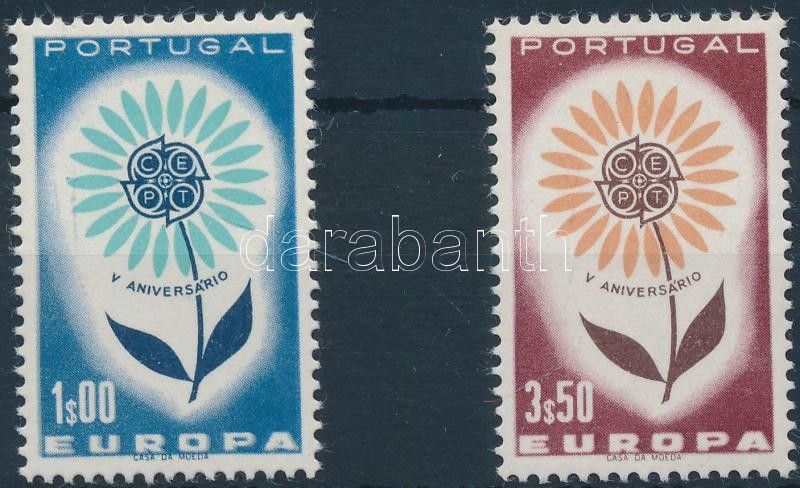 Europa CEPT 2 stamps from set, Europa CEPT sor 2 értéke