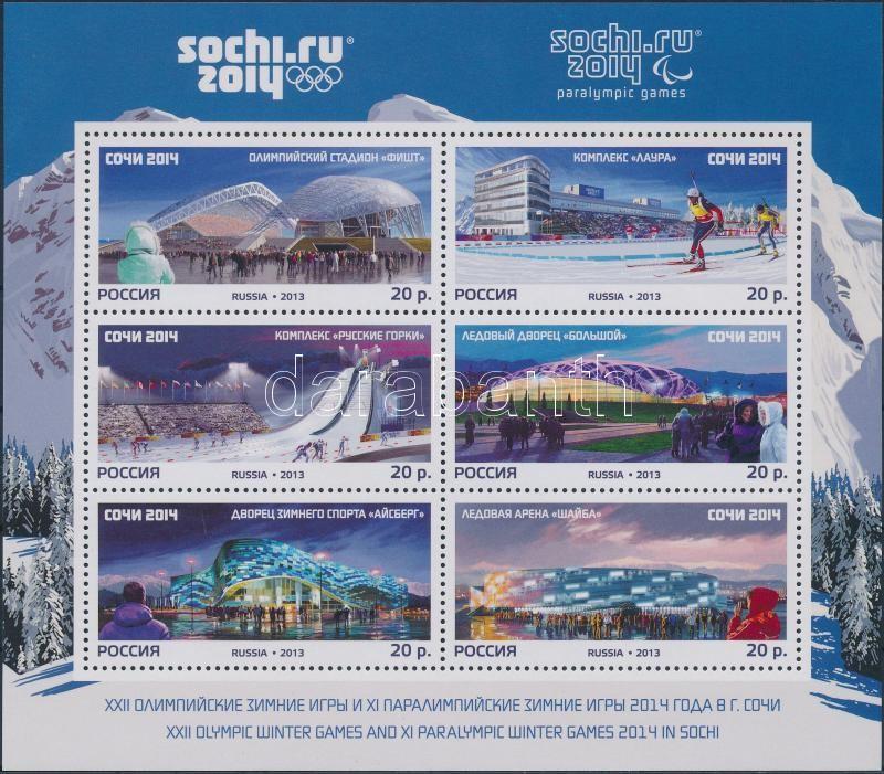 Winter Olympics, Sochi block, Téli Olimpia, Sotschi blokk