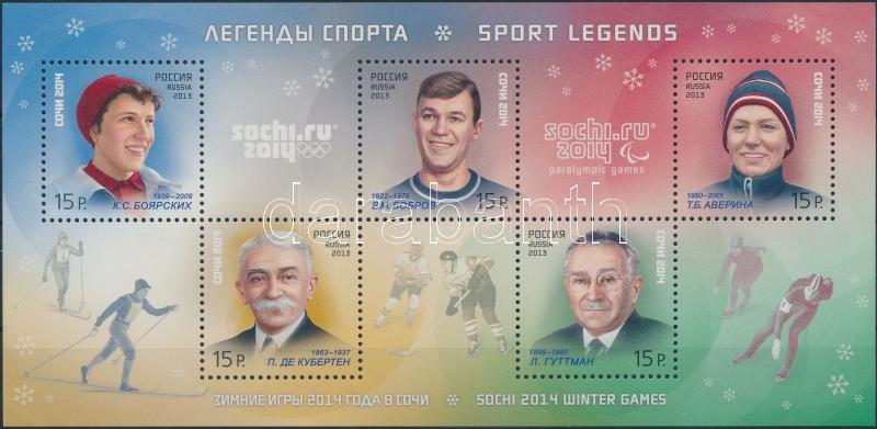 Successful winter sports (II.) block, Sikeres téli sportok (II.) blokk