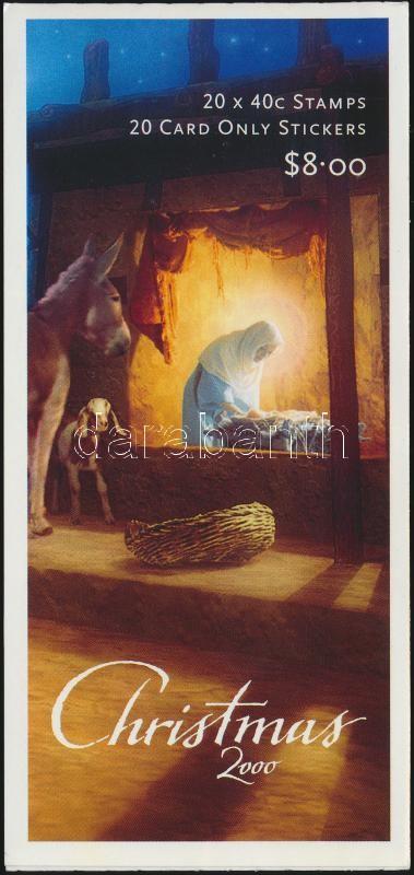 Christmas stamp-booklet, Karácsony bélyegfüzet
