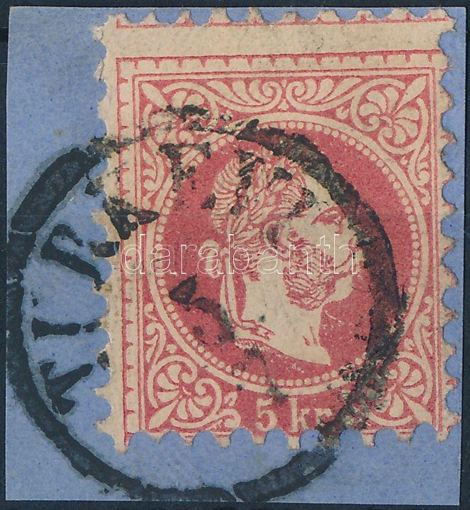 "Austria-Hungary-classic postmark ""TURK(EVI)"" ""TURK(EVI)"""