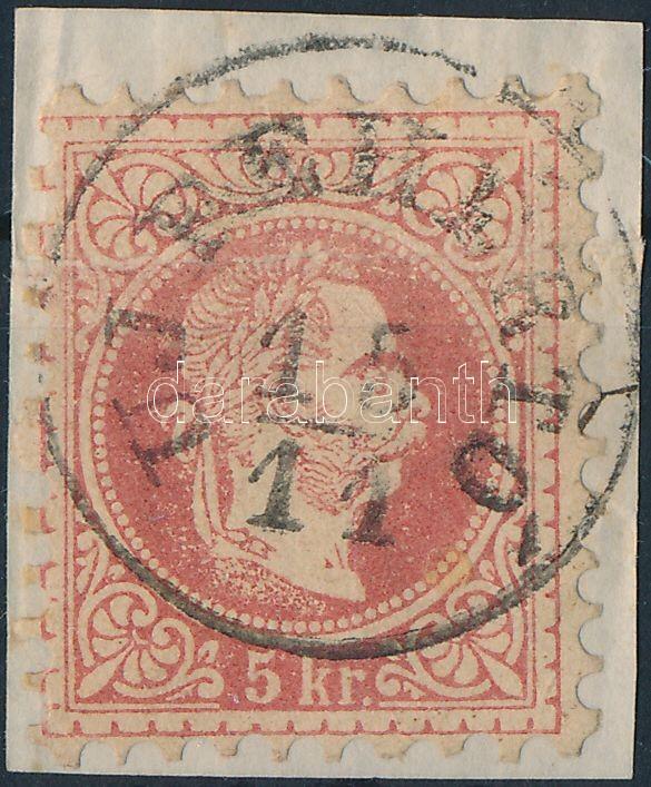"Austria-Hungary classic postmark ""UJFEHÉRTÓ"" ""UJFEHÉRTÓ"""