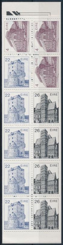 Architecture stamp-booklet, Építészet bélyegfüzet