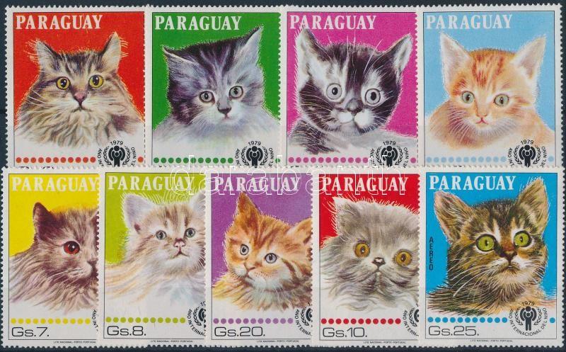 Macskák sor Cats set