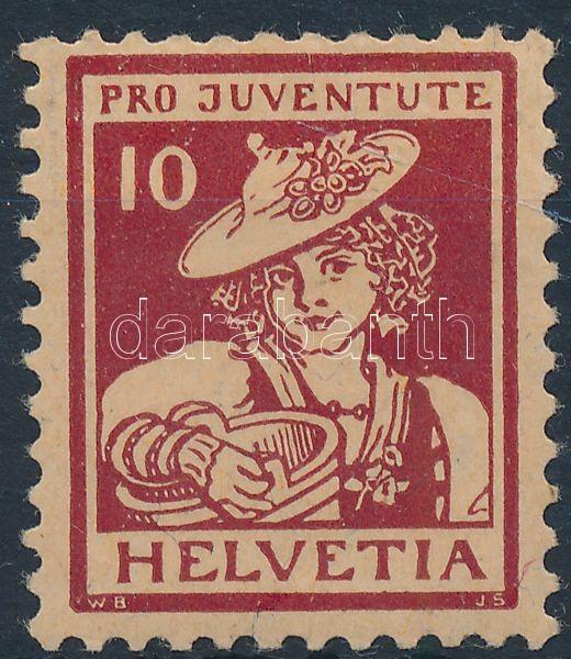 Pro Juventute stamp, Pro Juventute bélyeg